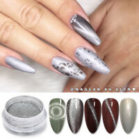 9D Cat Eye Magnetic Nail Glitter Powder Magnet Nail Art Pigment Decoration Dust