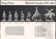 Series 77 British Cavalry, # 4/1 Napoleonic War 77mm scale kit  (Loc = J3)