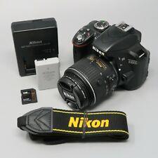 Nikon D3300 DSLR Camera - Black (Kit w/ AF-S DX VRII 18-55mm Lens) - 1K Clicks
