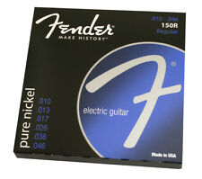 (2 PACKS) Fender 150R Pure Nickel 10-46 Electric Guitar Strings 073-0150-406