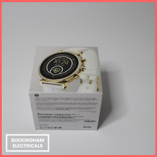 Michael Kors Sofie Smart Watch - Gold - White Strap - DW7M2 - iPhone + Android