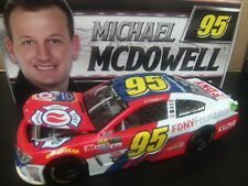 Michael McDowell 2017 Fire Dept New York Foundation 1/24 NASCAR Monster Energy
