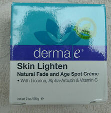 Derma E Skin Lighten Natural Fade & Age Spot Creme ~ NEW ~ CLEARANCE
