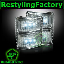 F250+F350+F450+F550 Super Duty 2008-2015 Side Mirror Light WHITE LED CLEAR FORD