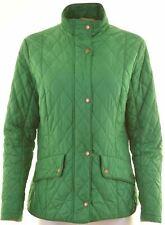 BARBOUR Womens Quilted Jacket UK 16 Large Green Polyamide  KE03