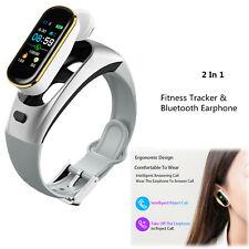 Men Women Smart Watch Sports Fitness Tracker Bracelet with Mic Handsfree Calling