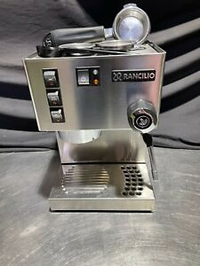 Rancilio Silvia 1 Group Espresso Coffee Machine Cappuccino Maker 2nd Hand