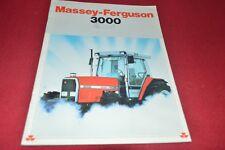 Massey Ferguson 3050 3060 3070 3090 Tractor Dealer's Brochure Gdsd7