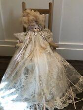Porcelain Baby doll Bye Lo Clone Long lace dress