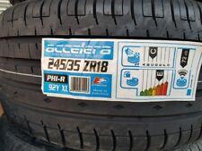 2X NEW CAR TYRES ACCELERA PHI-R 245/35 ZR18 XL 92Y A1 QUALITY 245 35 18 C+GRIP