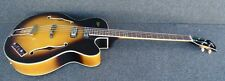 HOFNER HCT-500/5-SB PRESIDENT Contemporary BASS GUITAR stuart sutcliffe VIBE