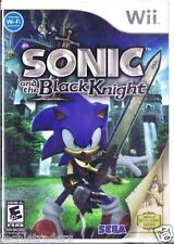 Sonic & The Black Knight (Nintendo Wii, 2009)   Factory Sealed Cellophane
