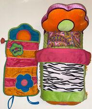 Groovy Girls Zebra Bed And Sleeping Bag