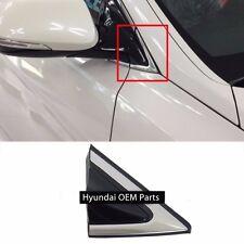 Fender Corner Chrome Molding 2013-2017 Santa Fe Right Passenger Mirror Trim
