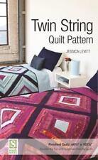 Levitt Twin String Quilt Pattern, Levitt, Jessica
