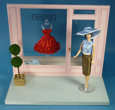 NEW Barbie Paris Boutique Centerpiece from 2012 Collectors Doll Conv. Dressmaker