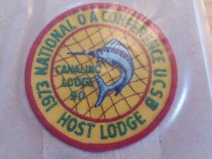 Canalino Lodge 90 1973 NOAC Host Lodge