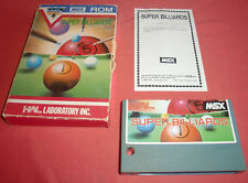 Msx super billiards EUR [] hal * jrf *