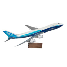 PACMIN BOEING 747-800F Large Travel Agency Desk Aircraft Model 1/100 in Box