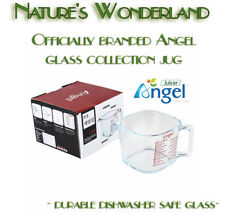 ANGEL Juicer Officially branded GLASS collection JUG - durable & dishwasher safe
