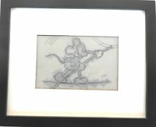 New listing Rare Vintage Mickey Mouse Cel Dated 1938