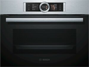 Bosch CSG636BS3 compact steam oven, series 8, free ship Worldwide