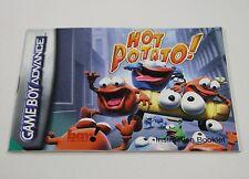 Hot Potato - PAL - Nintendo Gameboy Advance Instruction Manual