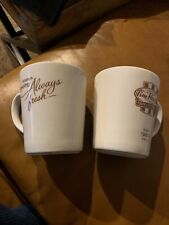 Tim Horton 2016 Steelite Mugs Set Of 2