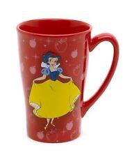 NEW DISNEY STORE ORIGINAL SNOW WHITE PRINCESS MUG LATTE COFFEE TEA CUP
