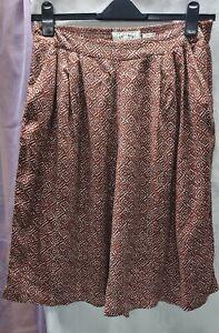 Fat Face-Femme-Bermuda-Sombre Vintage-Taille 6-Bnwt