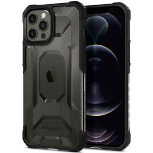 For iPhone 12 Pro / Pro Max Case | Spigen ®[ Nitro Force ] Shockproof Slim Cover