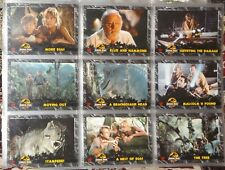 Jurassic Park card set in sleeve since purchase 108 cards