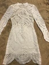 NEW HOT MIAMI STYLES WOMENS DRESS  SIZE SMALL WHITE