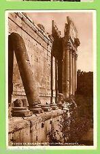 #E.   POSTCARD -  RUINS OF BAALBEK, SYRIA