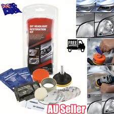 Car Headlight Lens Restoration System Professional Restorer Polishing Tool Kit O
