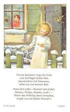"""Fleißbildchen Heiligenbild Gebetbild  E. Weidinger Holycard"""" H1860"""""""