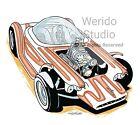 Beatnik Bandit/Ed Roth Cars  Automotive Art Print
