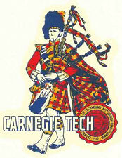 Carnegie Tech  College - University      Vintage-Looking   Travel Decal  Sticker