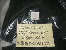2005-2009 RANGE ROVER LR3 NEW REAR SEAT BACK EBONY/BLACK LEATHER HMA502200PVJ