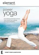 "Element: Power Yoga DVD R4 New & Sealed ""sale"""
