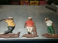 VINTAGE SEXTON WALL MOUNT GOLF FIGURES