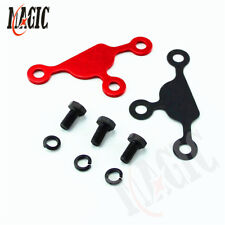 EGR Block Off Delete Plate Gasket Blocker For Nissan 240SX 91-98 KA24DE S14 RED