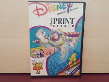 Disneys Print Studio-Toy Story 2-Werbe-PC CD ROM Software (j42)