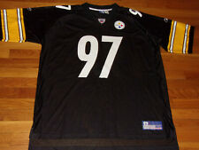 REEBOK PITTSBURGH STEELERS KENDRELL BELL NFL FOOTBALL JERSEY MENS 2XL NICE COND.