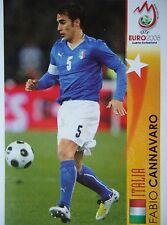 Panini 471 fabio cannavaro italia UEFA Euro 2008 Austria-Switzerland