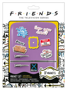 FRIENDS HOW YOU DOIN ? FRIDGE MAGNET SET * OFFICIALLY LICENSED PRODUCT *
