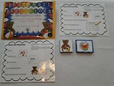 Beach Ball Beginning Sounds Phonics Literacy Centers Laminated Teacher Supply