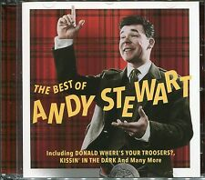 THE BEST OF ANDY STEWART CD - DONALD WHERE'S YOUR TROOSERS? & MORE