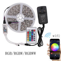 Wifi RGB LED Smart Strip Controller Working for Alexa Android/IOS Mobile Phone
