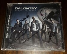 BREAK THE SPELL DELUXE VERSION by DAUGHTRY Signed Autographed CD!